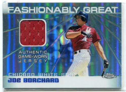 Photo of 2004 Topps Chrome Fashionably Great Relics #JBO Joe Borchard Jsy A