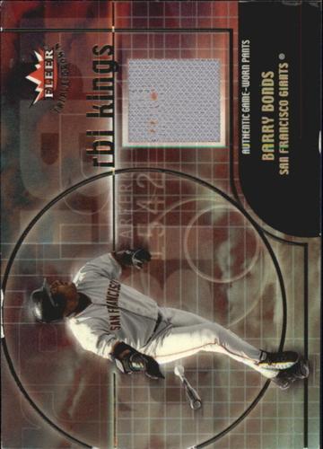 Photo of 2002 Fleer Triple Crown RBI Kings Game Used #2 Barry Bonds Pants