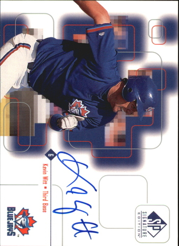 Photo of 1999 SP Signature Autographs #KW Kevin Witt