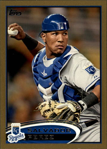 Photo of 2012 Topps Gold #343 Salvador Perez