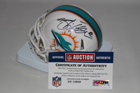 DOLPHINS - BRIAN HARTLINE SIGNED DOLPHINS MINI HELMET
