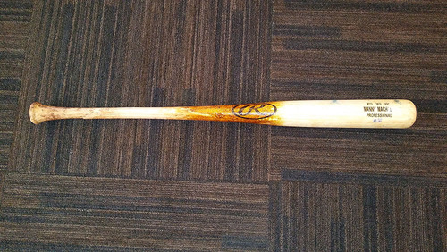 Photo of Manny Machado Game-Used Broken Bat