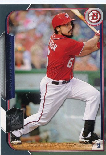 Photo of 2015 Bowman Silver #26 Anthony Rendon 31/499 -- Nationals post-season