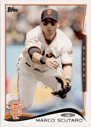 Photo of 2014 Topps #423 Marco Scutaro