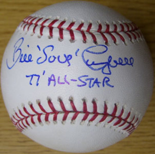 "Photo of Bill Campbell ""77 All-Star"" Autographed Baseball"