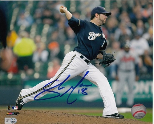 Photo of Shaun Marcum Autographed 8x10