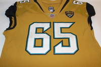 JAGUARS - BRANDON LINDER GAME WORN JAGUARS COLOR RUSH JERSEY (OCTOBER 27 2016)