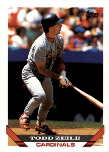 Photo of 1993 Topps #428 Todd Zeile