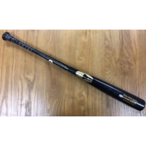 Photo of Game-Used Broken Bat: Victor Robles RBI Triple