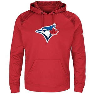 Toronto Blue Jays Fleece Armor Hoody by Majestic