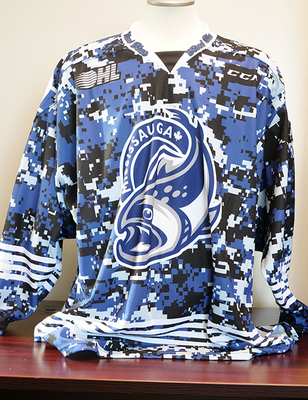 Isaac Walker (Bleed Blue) Game Issued Jersey
