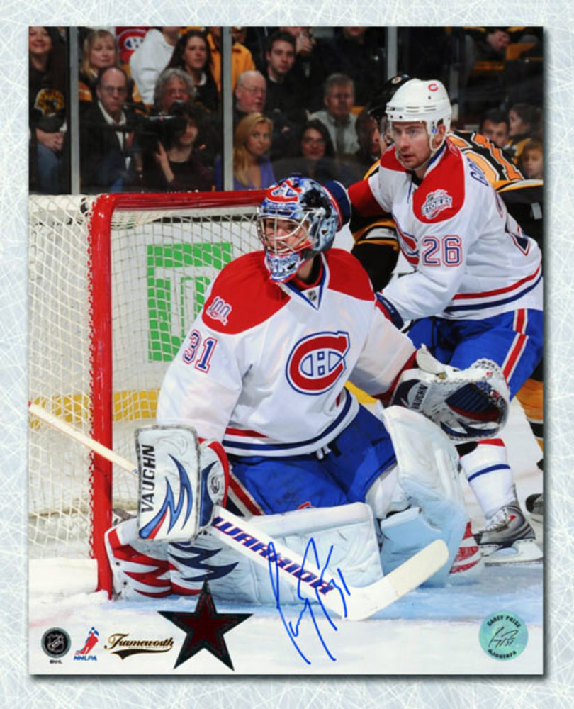 Carey Price Montreal Canadiens Autographed Game Action 16x20 Photo