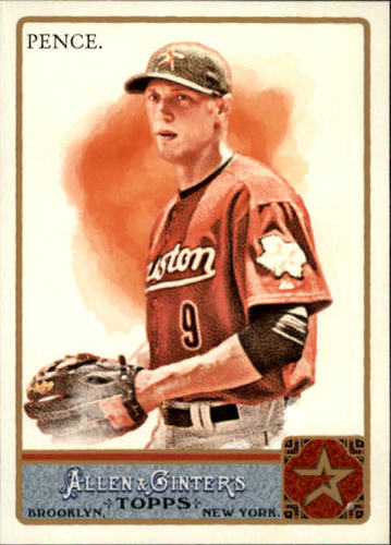 Photo of 2011 Topps Allen and Ginter #256 Hunter Pence