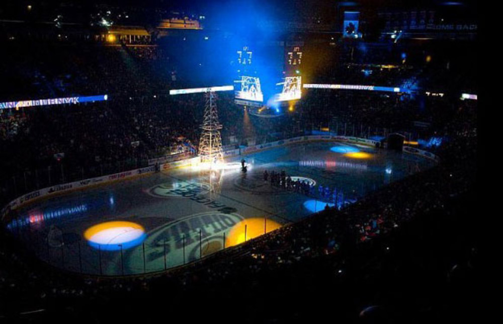 Edmonton Oilers Two Game Press Box Ticket & Dinner VIP Package For Two With Guided Backstage Tour Of Rexall Place & More - Games Include New York Rangers & Los Angeles Kings !