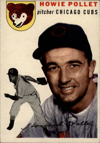 Photo of 1954 Topps #89 Howie Pollet