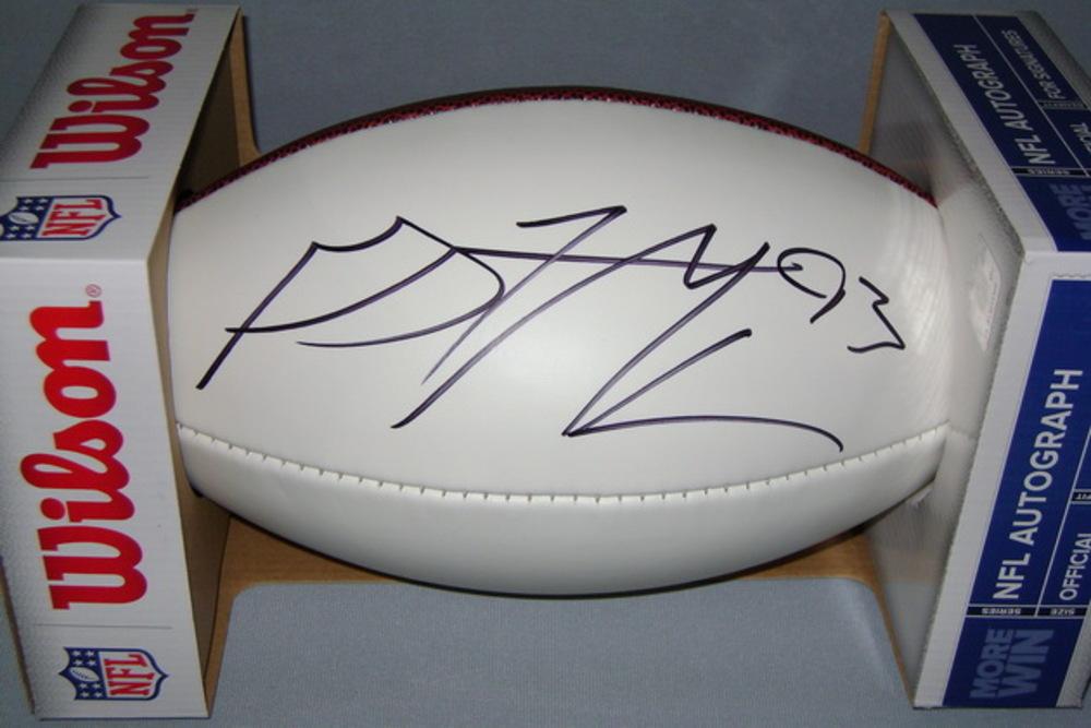 NFL - BUCCANEERS GERALD MCCOY SIGNED PANEL BALL