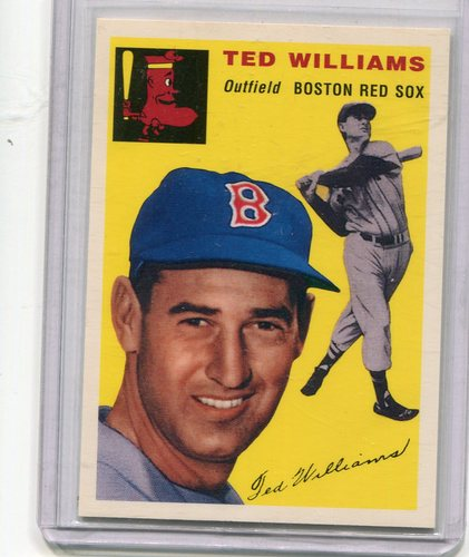 Photo of 1994 Upper Deck All-Time Heroes 1954 Archives #250 Ted Williams