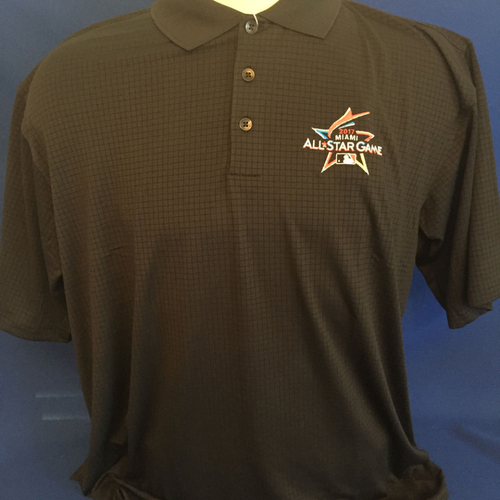 Photo of UMPS CARE AUCTION: 2017 All-Star Game Logoed Golf Shirt Size XL