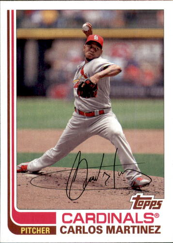 Photo of 2017 Topps Archives #173 Carlos Martinez
