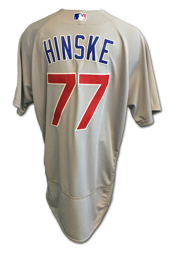 Eric Hinske Team-Issued Jersey -- 2017 Season
