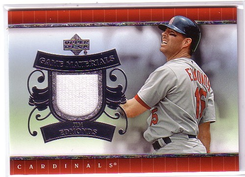 Photo of 2007 Upper Deck UD Game Materials #JE Jim Edmonds S2