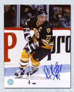 Ray Bourque Boston Bruins Autographed Hockey Action 16x20 Photo