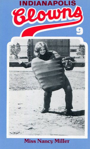 Photo of 1976 Laughlin Indianapolis Clowns #9 Nancy Miller/Lady umpire