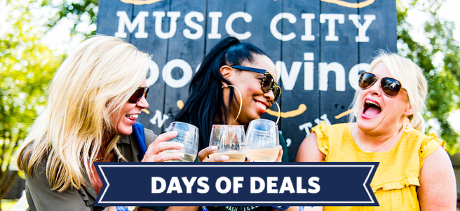 MUSIC CITY FOOD + WINE FESTIVAL - PACKAGE 1 of 4