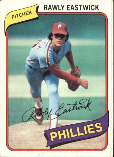 Photo of 1980 Topps #692 Rawly Eastwick DP