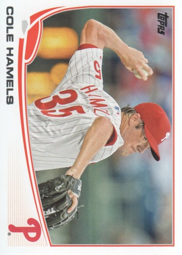Photo of 2013 Topps #332 Cole Hamels