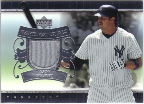Photo of 2007 Upper Deck UD Game Materials #JG Jason Giambi Jsy S1