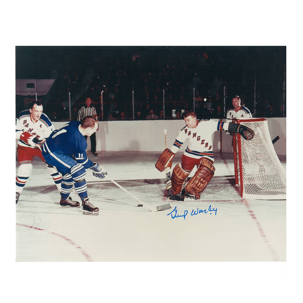 GUMP WORSLEY Signed New York Rangers 8 X 10 Photo - 70118