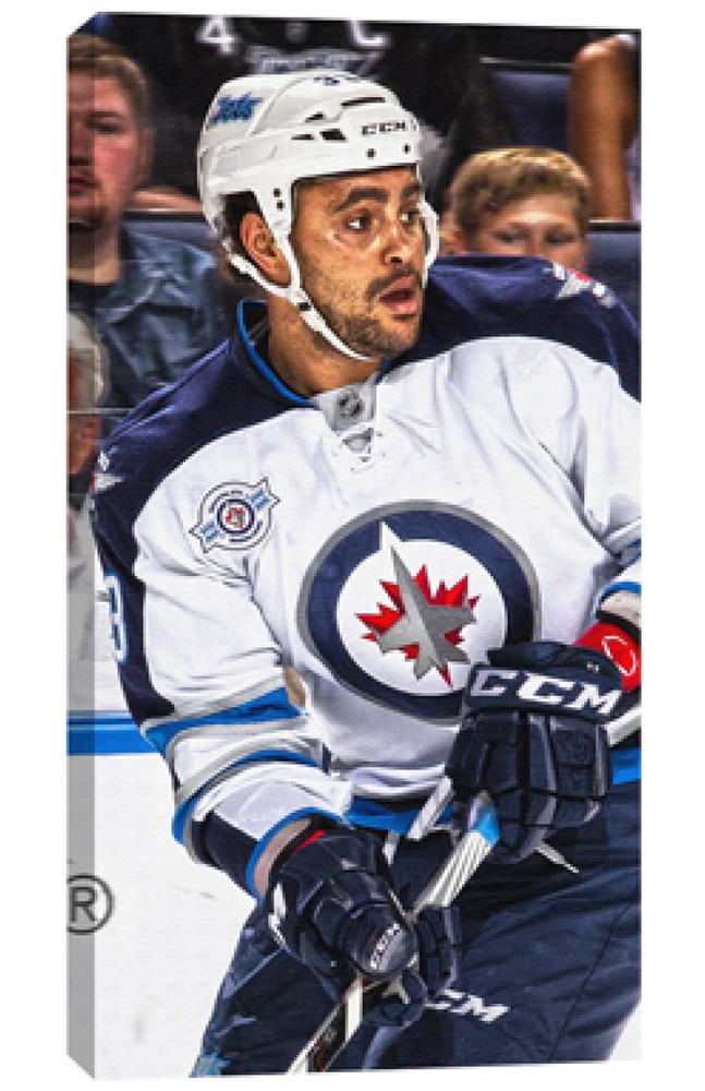 Byfuglien,D Unsigned 14x28 Canvas Jets