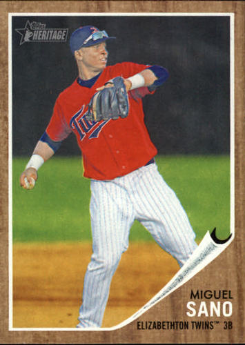 Photo of 2011 Topps Heritage Minors #64 Miguel Sano