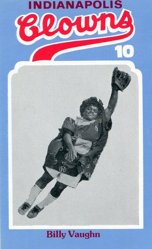 Photo of 1976 Laughlin Indianapolis Clowns #10 Billy Vaughn