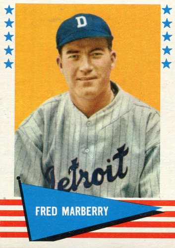 Photo of 1961 Fleer #125 Fred Marberry