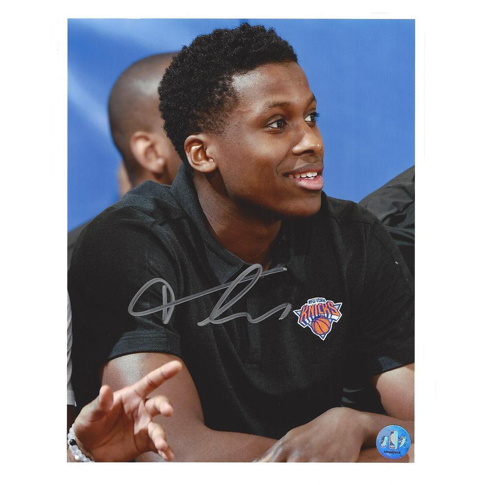 Frank Ntilikina - New York Knicks - 2017 NBA Draft - Autographed Photo