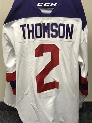 Lassi Thomson 2019 Sherwin-Williams CHL/NHL Top Prospects Game Issued Jersey