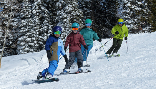 4-NIGHT 3-DAY FAMILY SKI VACATION TO STEAMBOAT SPRINGS, COLORADO (4 GUESTS)
