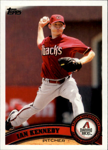 Photo of 2011 Topps #39 Ian Kennedy