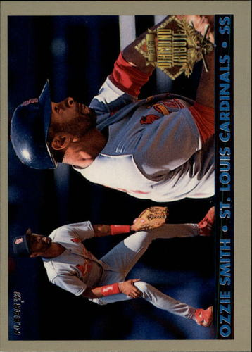 Photo of 1993 Fleer Final Edition Diamond Tribute #8 Ozzie Smith