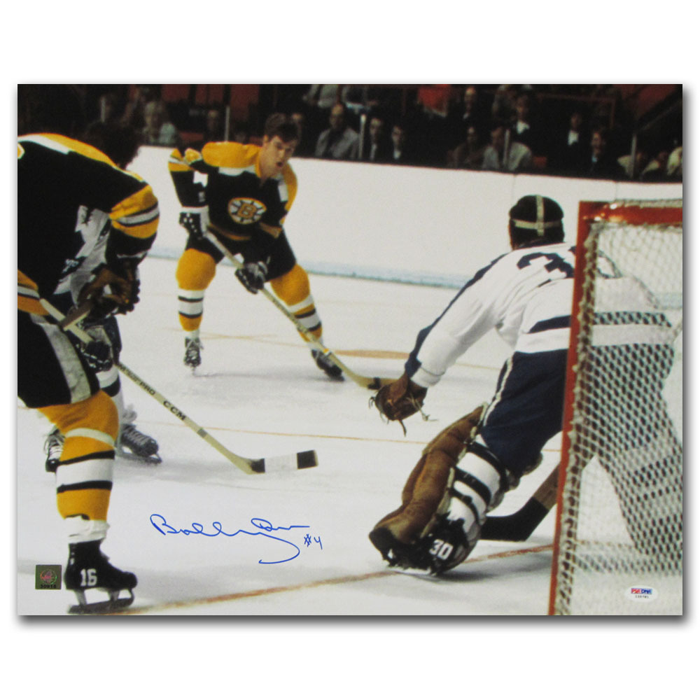 Bobby Orr Autographed Boston Bruins 16X20