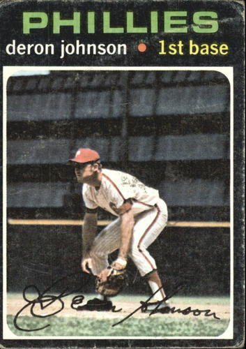 Photo of 1971 Topps #490 Deron Johnson