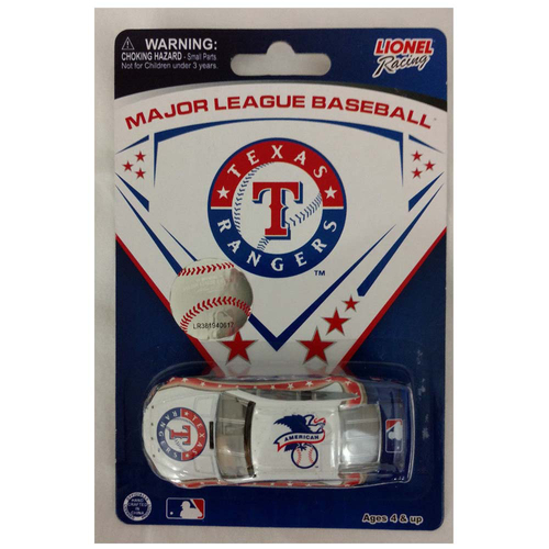 Photo of UMPS CARE AUCTION: Texas Rangers Lionel Racing MLB 1:64 Scale Stock Car