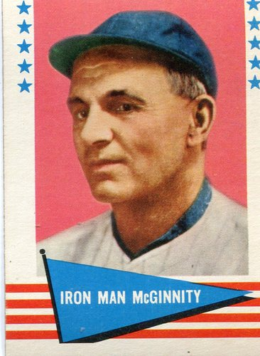 Photo of 1961 Fleer #126 Joe McGinnity