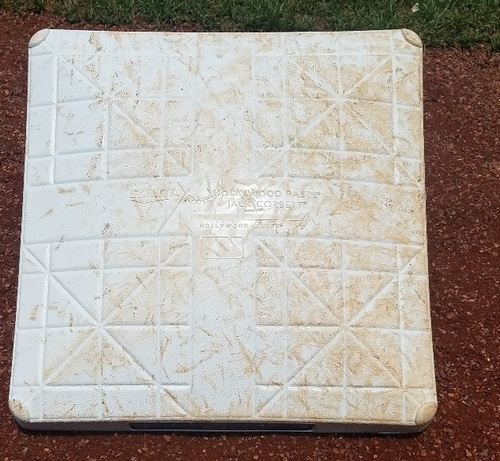 Photo of 2017 Game-Used Base - Howie Kendrick 1,500th Career Hit