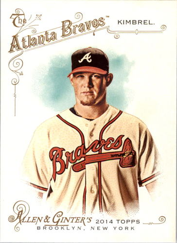 Photo of 2014 Topps Allen and Ginter #43 Craig Kimbrel