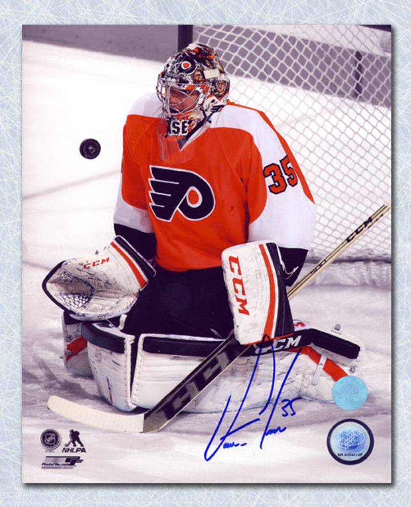 Steve Mason Philadelphia Flyers Autographed Spotlight 8x10 Photo