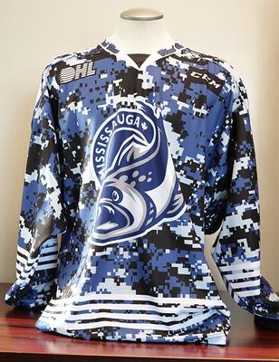 Keean Washkurak (Bleed Blue) Game Worn Jersey