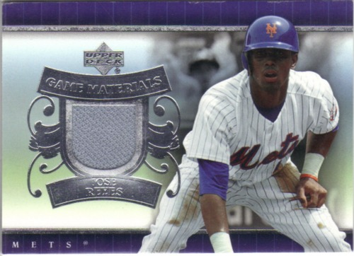 Photo of 2007 Upper Deck UD Game Materials #JR Jose Reyes Jsy S1